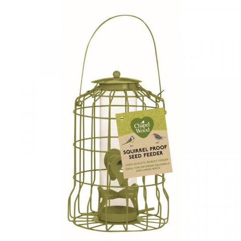 Chapelwood - Original Squirrel Guardian Seed Feeder Seed Feeders | Snape & Sons