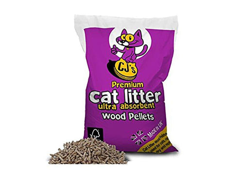 CJ's - Premium Cat Litter 5L Cat Accessories | Snape & Sons