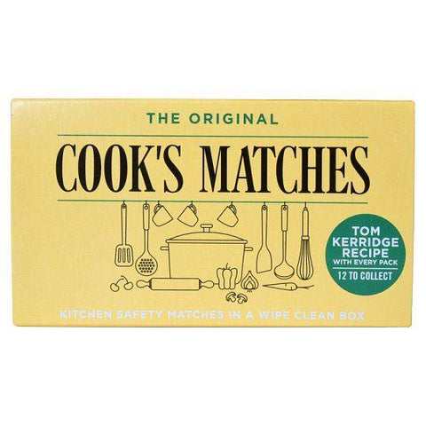 Cook's Matches - The Original Cook's Matches Lighters & Matches | Snape & Sons
