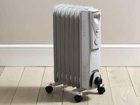 Daewoo - Oil Filled Radiator 1.5kW Oil Filled Radiators | Snape & Sons