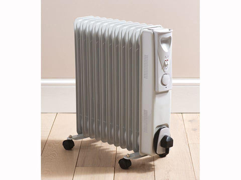 Daewoo - Oil Filled Radiator 2.5kW Oil Filled Radiators | Snape & Sons