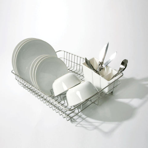 Delfinware Wireware - Large Stainless Steel Dish Drainer Dish Draining Racks | Snape & Sons