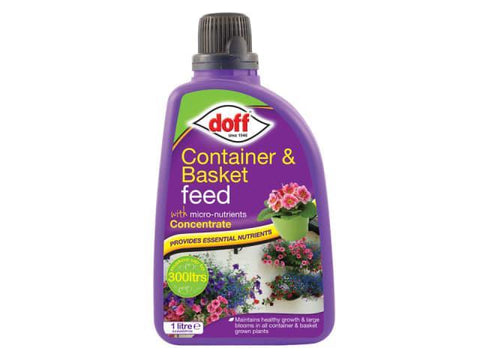 Doff - Container & Basket Feed 1L Liquid Lawn Feeds | Snape & Sons