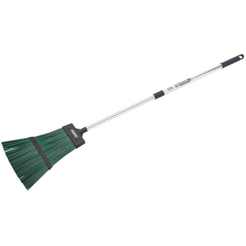 Draper Tools - Telescopic Corn Broom Brooms | Snape & Sons
