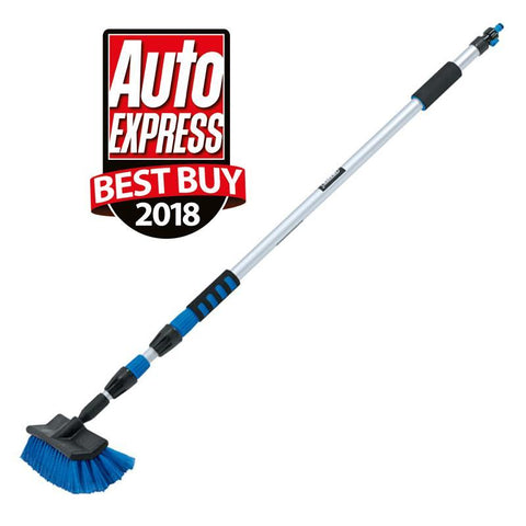 Draper Tools - Telescopic Water Feed Brush 3m Water Feed Brushes | Snape & Sons