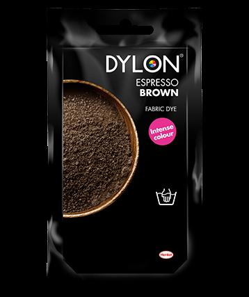 Dylon - Hand Dye Sachet Espresso Brown Fabric Dyes | Snape & Sons