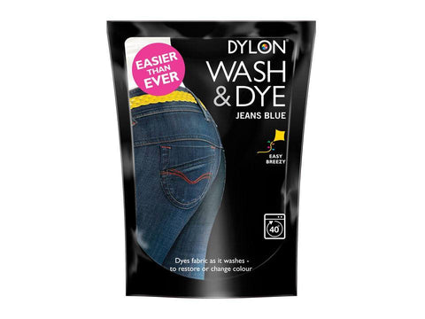 Dylon - Jeans Blue Wash'n'Dye Fabric Dyes | Snape & Sons