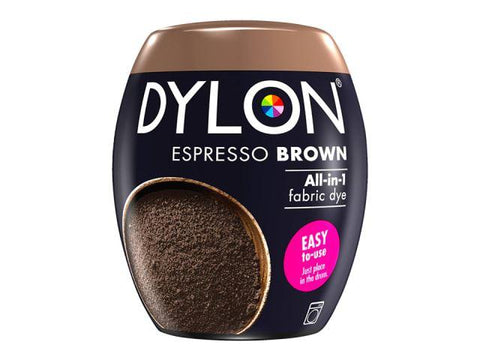 Dylon - Machine Dye Pod Espresso Brown Fabric Dyes | Snape & Sons