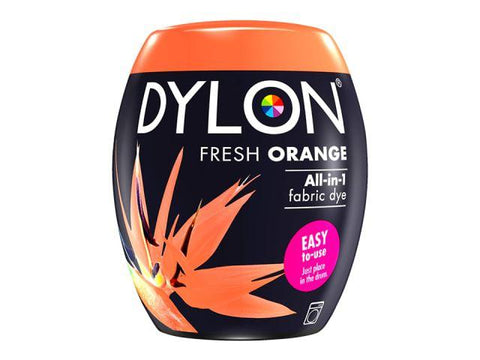 Dylon - Machine Dye Pod Fresh Orange Fabric Dyes | Snape & Sons