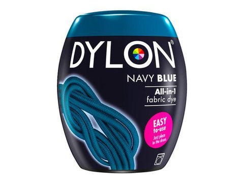 Dylon - Machine Dye Pod Navy Blue Fabric Dyes | Snape & Sons