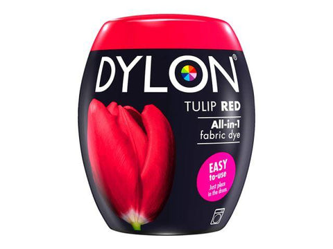 Dylon - Machine Dye Pod Tulip Red Fabric Dyes | Snape & Sons