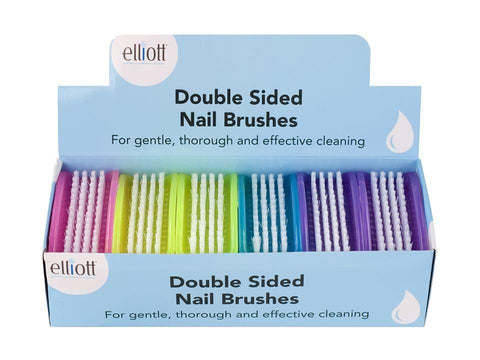 Elliott - Plastic Nail Brush Double Sided Nail Brushes | Snape & Sons