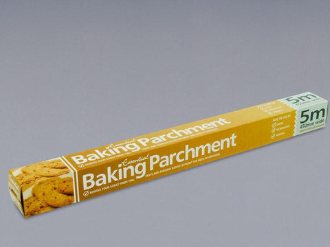 Essentials - Baking Parchment x 5m Baking & Greaseproof Paper | Snape & Sons