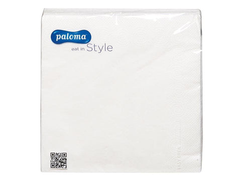 Essentials - Napkins 3 ply White x 20 Napkins | Snape & Sons