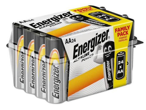 Eveready - Alkaline Power Family Pack Pack x24 AA Pencil Batteries | Snape & Sons