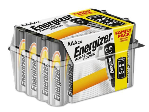 Eveready - Alkaline Power Family Pack Pack x24 AAA Pencil Batteries | Snape & Sons