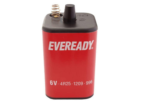 Eveready - PJ996 6V Lantern Battery Speciality Batteries | Snape & Sons