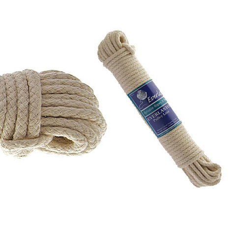 Everlasto - 20m Cotton Pulley Line Washing Lines | Snape & Sons