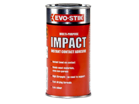 Evo-Stik - Impact Adhesive - 500ml Tin Contact Adhesives | Snape & Sons