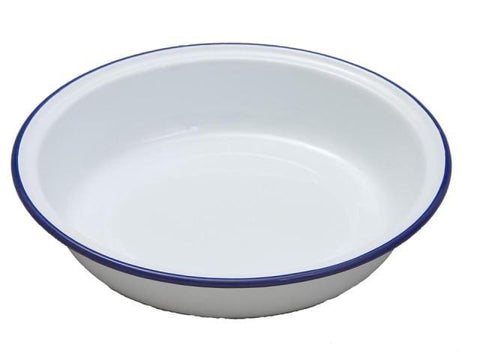 Falcon - Enamel Round Pie Dish 16cm Pie Dishes | Snape & Sons