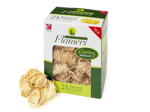 Flamers - Natural Firelighters x24 Firelighters | Snape & Sons