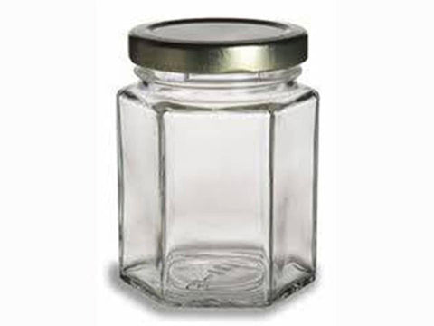 Freeman - Hexagon Jar 12oz Jam Jars | Snape & Sons