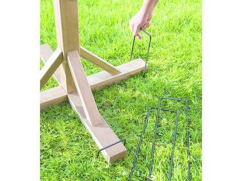 Gardman - Bird Table Anchoring Pegs Bird Tables and Feeding Stations | Snape & Sons