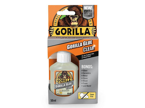 Gorilla - Gorilla Glue Clear 50ml General Adhesives | Snape & Sons