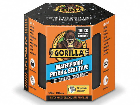 Gorilla - Patch & Seal Tape 100mm x 3m Repair Tape | Snape & Sons