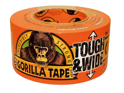Gorilla - Tough & Wide Gorilla Tape 73mm x 27m Repair Tape | Snape & Sons