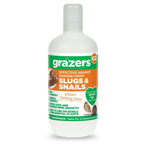 Grazers - G2 Slug & Snail Concentrate 350ml Slug Control | Snape & Sons