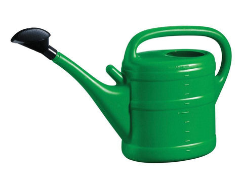 Green Wash - Essential Watering Can Green 10L Watering Cans | Snape & Sons
