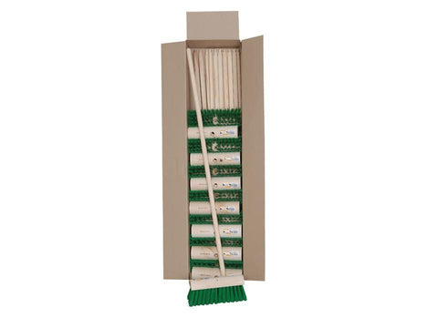Hills Brush - Stiff PVC Yard Broom Brooms | Snape & Sons