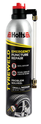 Holts - Tyreweld Emergency Puncture Repair 400ml Puncture Repair | Snape & Sons