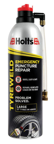 Holts - Tyreweld Emergency Puncture Repair 500ml Puncture Repair | Snape & Sons