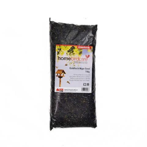 Home Birdcare - Niger Thistle Seed 750g Bird Feed Straights | Snape & Sons