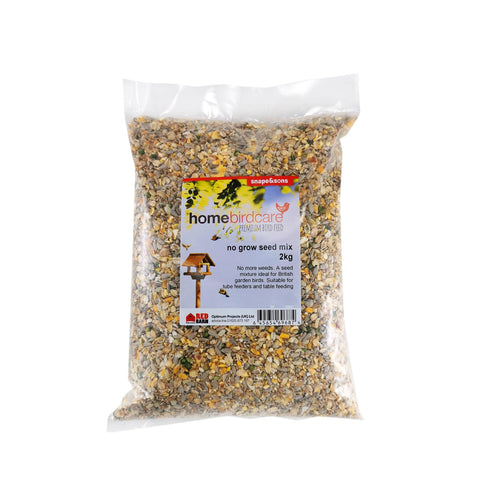 Home Birdcare - No Grow Seed Mix 2kg Bird Seed Mixes | Snape & Sons