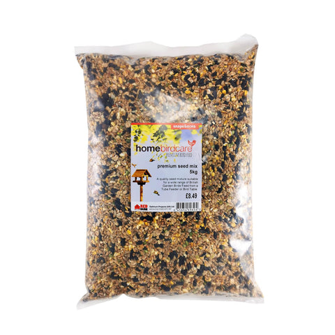 Home Birdcare - Premium 11 Seed Mix 5kg Bird Seed Mixes | Snape & Sons