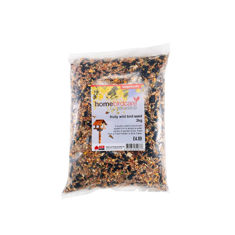 Home Birdcare - Ultimate Fruity 13 Seed Mix 2kg Bird Seed Mixes | Snape & Sons