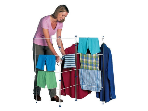 Home Hardware - 3 Fold Clothes Horse Clothes Airers | Snape & Sons