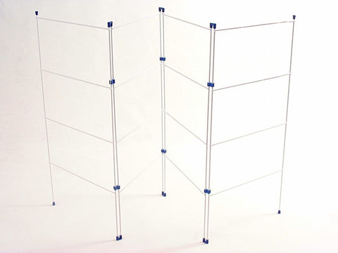 Home Hardware - 4 Fold Clothes Horse Clothes Airers | Snape & Sons