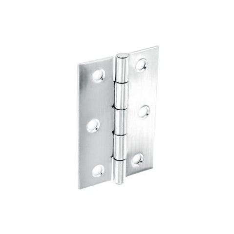 Home Hardware - 75mm Chrome Butt Hinges Butt Hinges | Snape & Sons