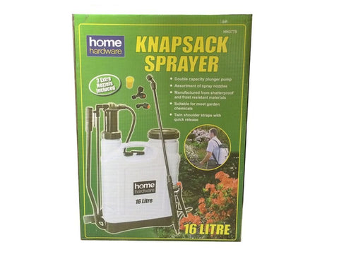 Home Hardware - Knapsack Pressure Sprayer 16ltr Pressure Sprayers | Snape & Sons