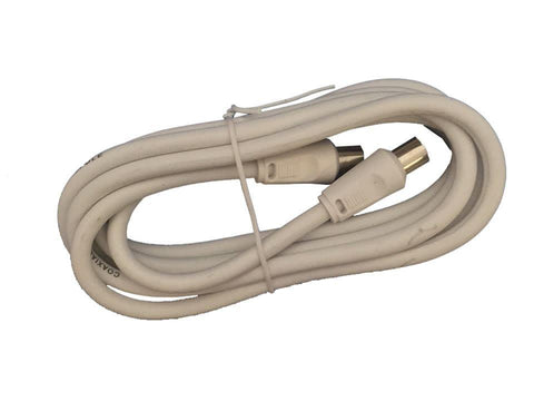 Home Hardware - Male to Female Coax Video Lead 2m Coax Plugs & Cables | Snape & Sons