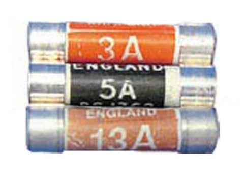 Home Hardware - Mixed Cartridge Fuses x 9 Fuses | Snape & Sons