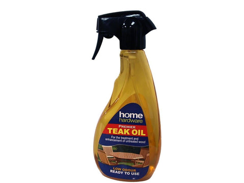 Home Hardware - Premier Teak Oil Spray Garden Furniture Care | Snape & Sons