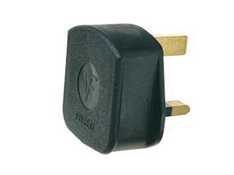 Home Hardware - Rubber 13A 3-Pin Plug Plug Tops | Snape & Sons
