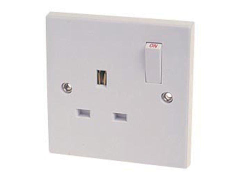 Home Hardware - Single Switched Socket Plate Switched Socket Plates | Snape & Sons