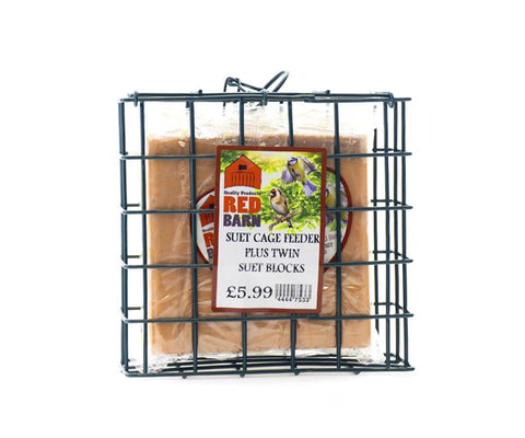 Home Hardware - Versatile Mesh Cage Feeder + Suet Blocks Fat Ball Feeders | Snape & Sons