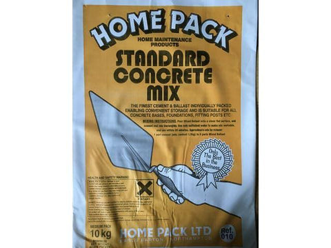 Home Mix - Standard Coarse Concrete 10kg Concrete | Snape & Sons